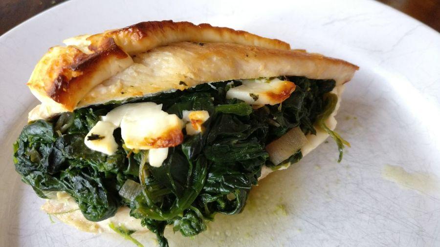 Food Nofilternoedit Oneplusthree Cheese! Feta Cheese Chicken Spinach