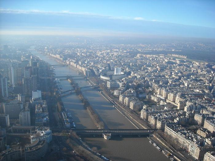 City City View  Paris Tour Eiffel Senna Panoramic View