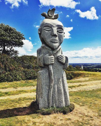 La Vallée Des Saints Sculpture Carnoet