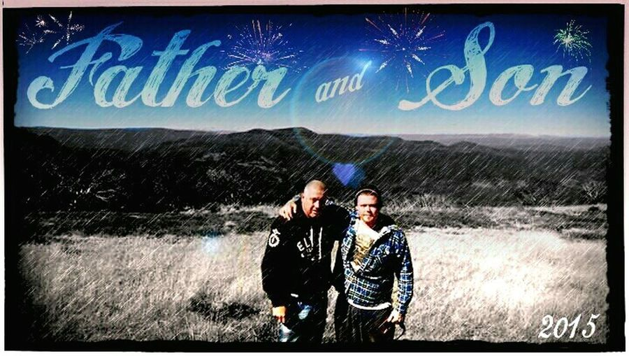 Reflected Glory Father & Son Love ♥ Holiday♡ 4x4 Family Matters Family❤ FamilyLove In Arms Memories ❤