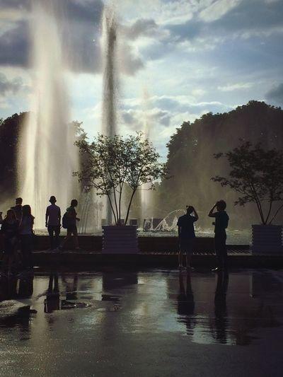 Fountain Water