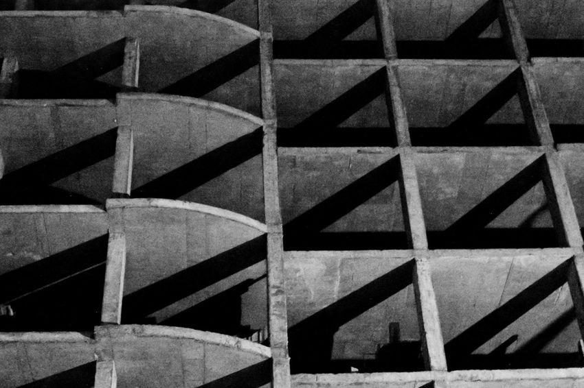 Pattern Backgrounds No People Architecture Built Structure Low Angle View Shape Shadows Wb Midnight