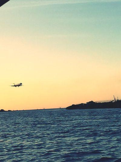 Airplane foto landin