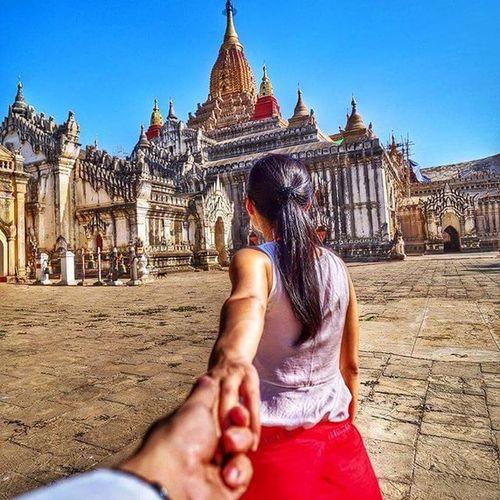 Follow me to explore the Westminster Abbey of Burma CopyCatCustard Followmeto Followmetoexplore Comewithme Joetographr Outlanderly Bagan Pagan Travelgram