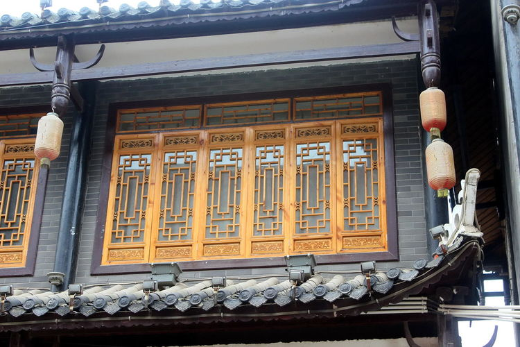 Ancient Architecture_collection Building Exterior Buildings Design Heritage Heritage Site Heritagesite HeritageVillage Monumental Buildings Things I Like Window Designs Windows Colourful Wood Carving Handicraft China,Guizhou Oriental China