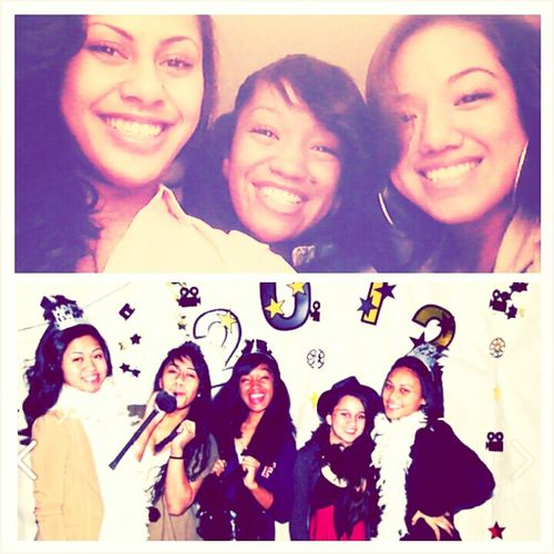 And To Think This Was Just Last Year!! Happy Belated New Years From US!(: