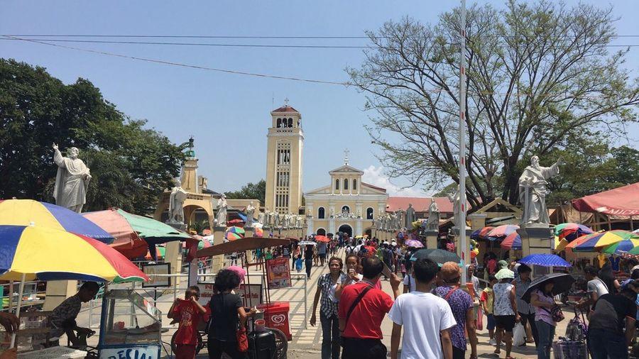 ManaoagChurch Pangasinan Philippines North Church Our Lady Of Manaoag Church Manaoag