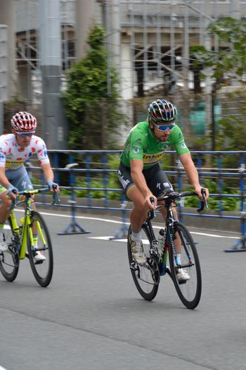 さいたまクリテリウム Criterium Greenjersey Sports Race Sport Speed SaitamaCriterium Racing Bicycle Professional Sport Pedal Motion Competitive Sport Bicycle Sprinter Sports Event  Athlete Peter Sagan Tinkoff EyeEm Best Shots Maillot Vert