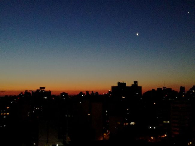 atardecer en la plata Cielo Noche Moon Night No People Illuminated Nature Sky Architecture City Beauty In Nature