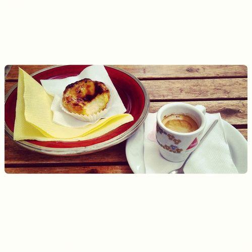 Coffee And Pastéis De Nata