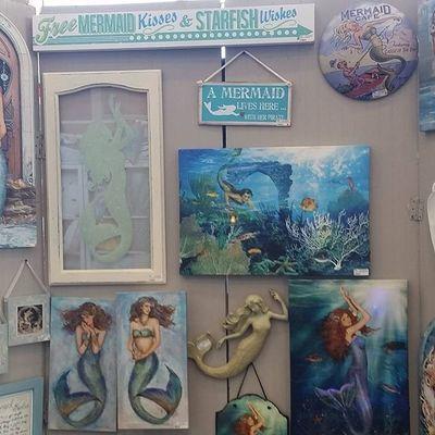 Never get enough Mermaids Oceancitycool OceanCity Maryland ocmd tradeshow