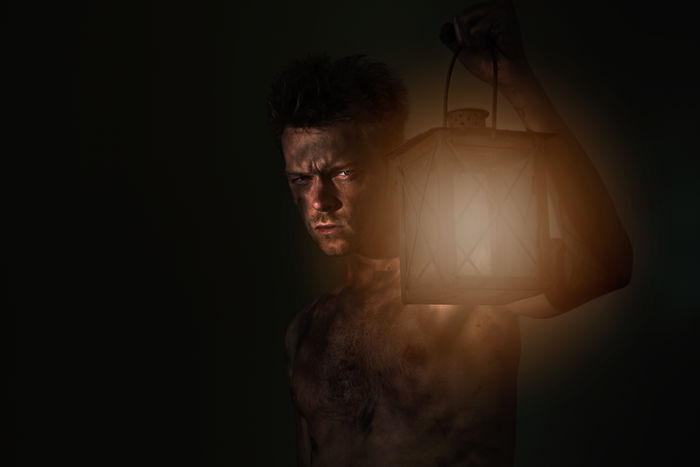 Black Background Body & Fitness Boy Dark, Face Immigrant Immigrants Lifestyles Light Light And Shadow Lights Lost Man Men Mysterious Mystery Only Men Portrait Refugee Scared Scary Serious Sexyboy Shirtless Young Adult