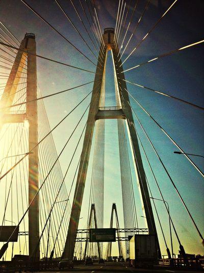 Солнце, теплый день! Большой Обуховский мост!)
