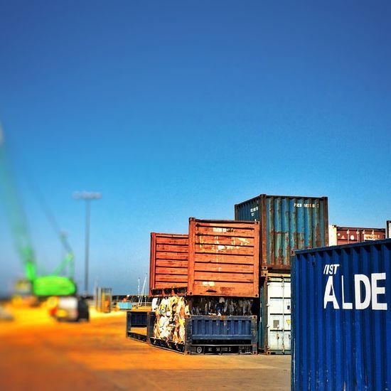 Port Harbour Crane Container