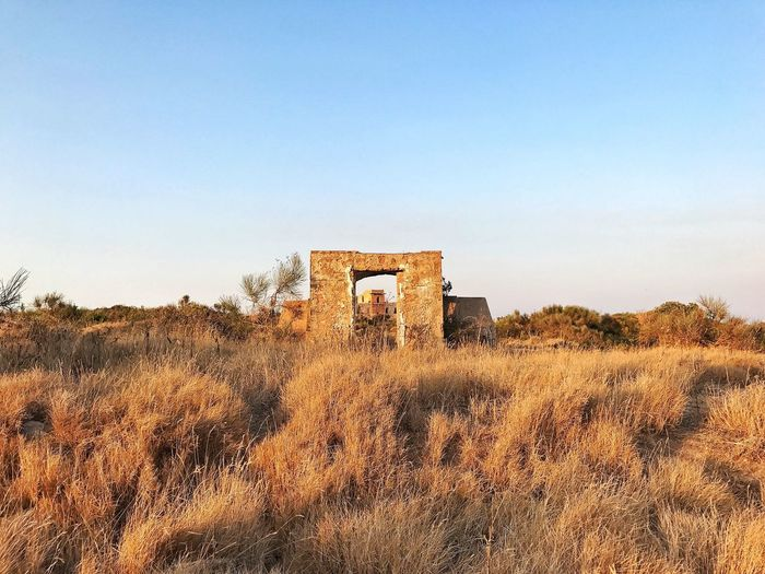 Architecture Built Structure History Obsolete Old Ruin Old Abandoned The Past Damaged Copy Space Run-down Day Building Exterior Bad Condition Weathered Nature No People Ancient Clear Sky Outdoors Ponza Island Italy