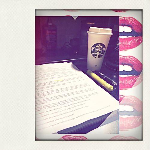Studying Starbucks Enjoying Life