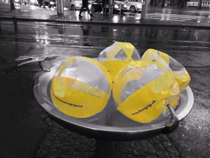 Yellow ballon Yellow Colorsplash Balloons EyeEmSwiss