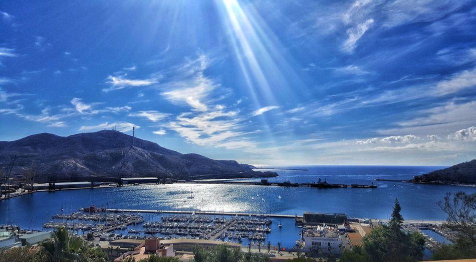 Water Sea Mountain Nautical Vessel Blue Sky Cloud - Sky Sailing Yacht Boat Deck Sailing Ship