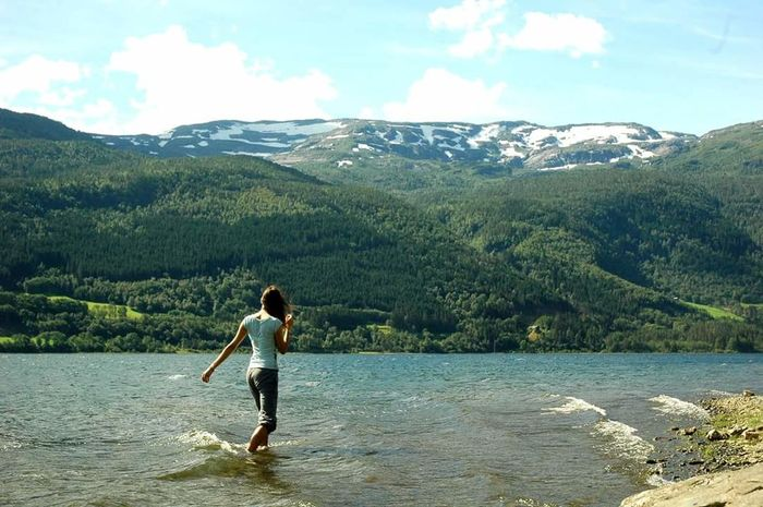 Norway Nature Entertainment Beauty In Nature Summer Views Norway Nature Water Been There.