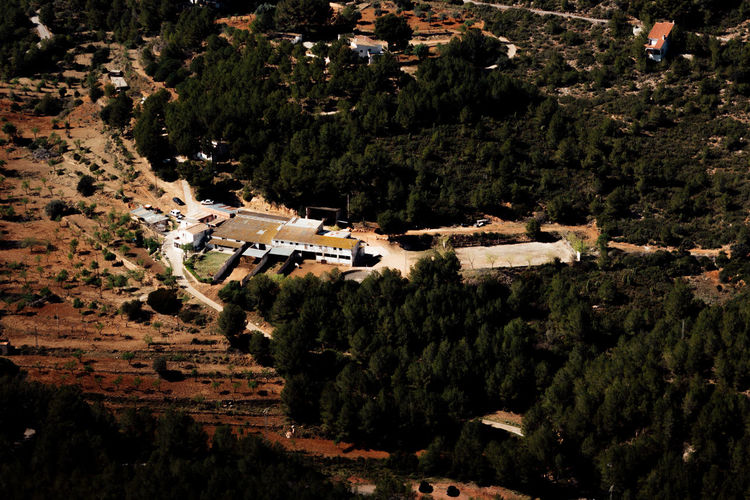 Aerial View Architecture Arial Building Exterior Built Structure Dry Film Gold Hour Golden Heat High High Angle View Higher Places. Hot Mountain Orange Outdoors Roof Rural Scene Scenics SPAIN Summer Tree View VSCO
