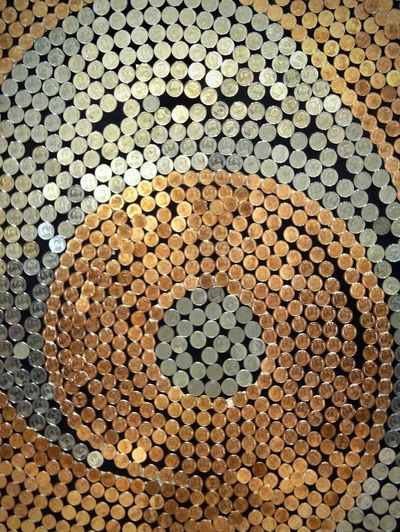 Capture the art from Thai Currency Coins. Arrangement Art Background Circles In Circles Coin Day Full Frame Gold And Silver  Harmony Indoor Photography Metal Art Metal Reflection No People Pattern Textures And Surfaces Thai Baht Coins Thai Currency Wink