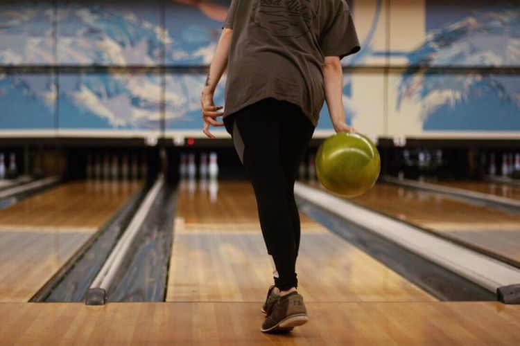 I'll spare you the details, but our attempt at bowling ended in gutter disaster Bowl Bowling Sport Real People Human Leg Activity Leisure Activity First Eyeem Photo