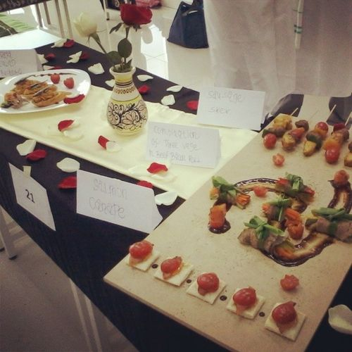 My final project garde manger ...awesome .. Romantic_theme