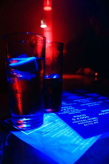 Club beat, concepción. Chile Glass - Material Drink Indoors  No People Drinking Glass Red Night Close-up Club Dj Club Pisco Piscola Colors