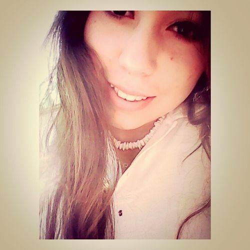 Bored Girl Smile