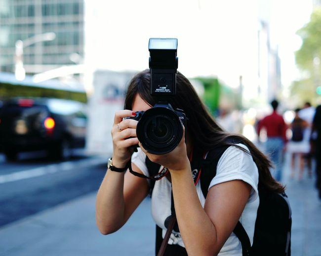 Photographer photographing photographer
