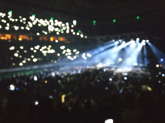 Concert Bokeh Lights Oneplusthree The1975 The1975mnl
