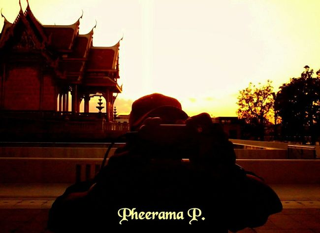 Hello my friends on EyeEm World:- 'enjoy The Sun EyeEm Best Shots - Sunsets + Sunrise Architecture Thailand_allshots ,
