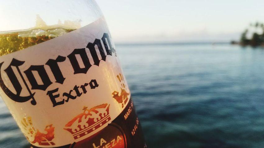 Sea Beach Travel Destinations Travel Drink Nature Outdoors Vacations Dorado Puerto Rico Agua Mar Playa Corona Corona Extra Beer