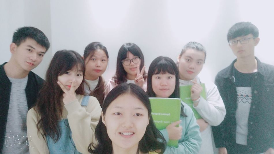 learning English😘 Child Medium Group Of People Teenager Student Friendship