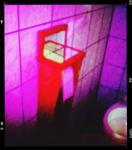 Restroom ,ca. 2005 ( Back In The Day ), @ Delicious'Doughnuts/Berlin