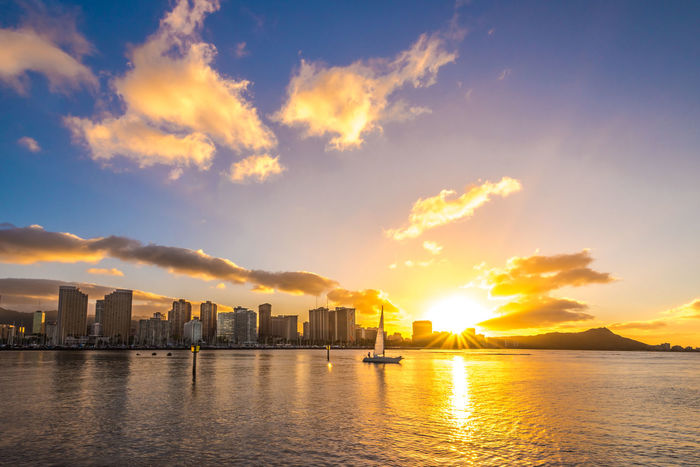 Colors Dramatic Sky Hawaii Hawaii Life Island Life Nature Oahu Skyline Sunrays Aloha Beach Clouds And Sky Hawaiian Honolulu  Island Mountain Natgeo Ocean Planet Sail Sailboat Sailing Sunray Sunrise Sunrise_sunsets_aroundworld
