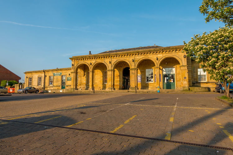 Whitby Whitby View Whitby North Yorkshire North Yorkshire Yorkshire Seaside Town Architecture Built Structure Train Station Train Stations Building Exterior Sky Arch Building Sunlight Outdoors Clear Sky