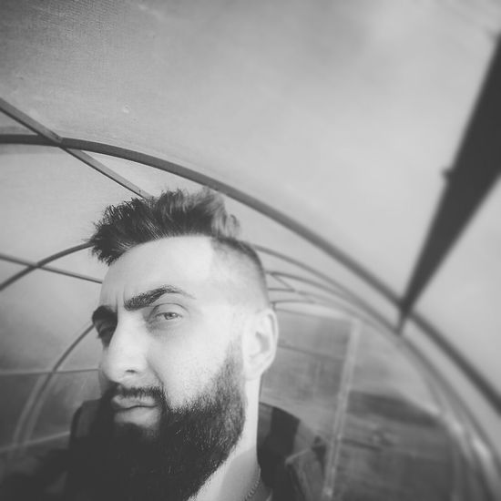 Lifestyles Young Men Young Adult Casual Clothing Sky City Life Enjoyment Leisure Activity Headshot Diploidrec That's Me✌️ Beardedman Maleportrait Beard Fashionable Sergey Standing Greenhouse Light Selfie✌ Autumn🍁🍁🍁 Diploid Blackandwhite Monochrome Photography