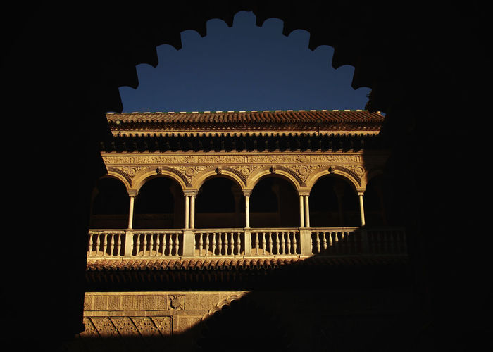 Arch Architectural Column Architecture Beautiful Spain Built Structure City History Reales Alcazares De Sevilla Sevilla Spain Spain♥ Travel Destinations