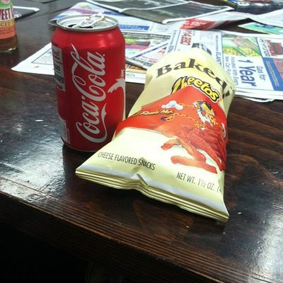 Break time Cheetos Cocacola Break Time only15min