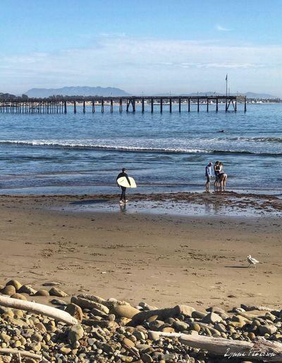Ventura Beach Beach Water Outdoors Beauty In Nature People Ventura Photooftheday Picoftheday 365project EyeEmNewHere California Ocean Surfboards Ventura Pier Ventura Beach