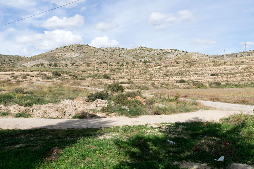 Utrillas Terual Moseo minerio y alrededores. Octubre 2018 2018 October Teruel Utrillas Beauty In Nature Cloud - Sky Day Eddl Environment Field Grass Land Landscape Mountain Nature No People Non-urban Scene Outdoors Plant Road Scenics - Nature Sky Tranquil Scene Tranquility Transportation Tree