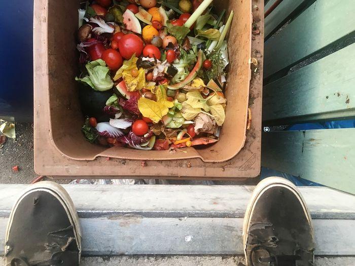 Food Waste Food Trash Wasting Food Trash