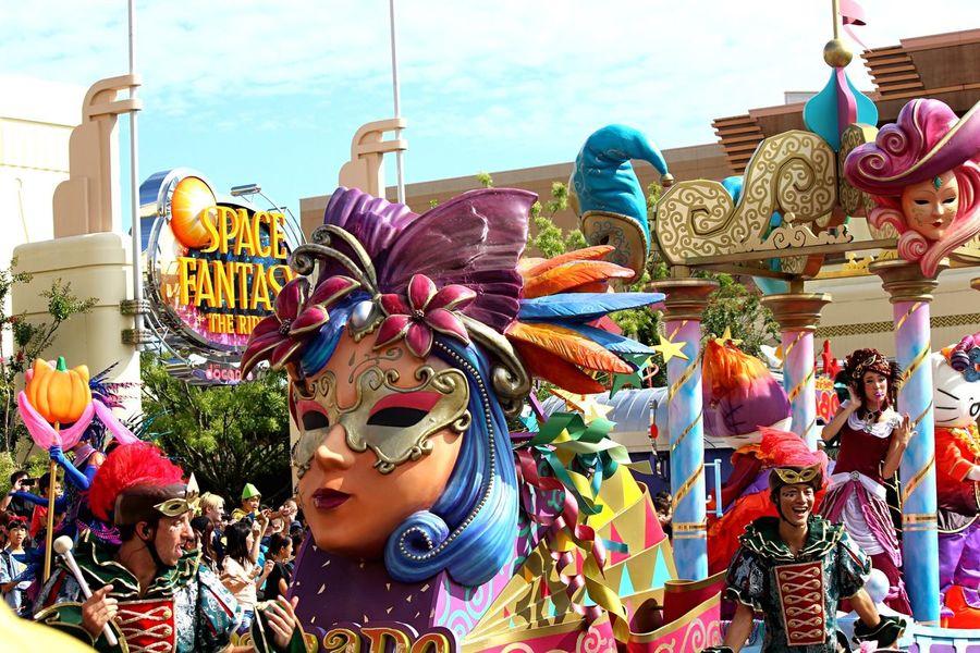 Holiday USJ Oosaka  Parade Halloween