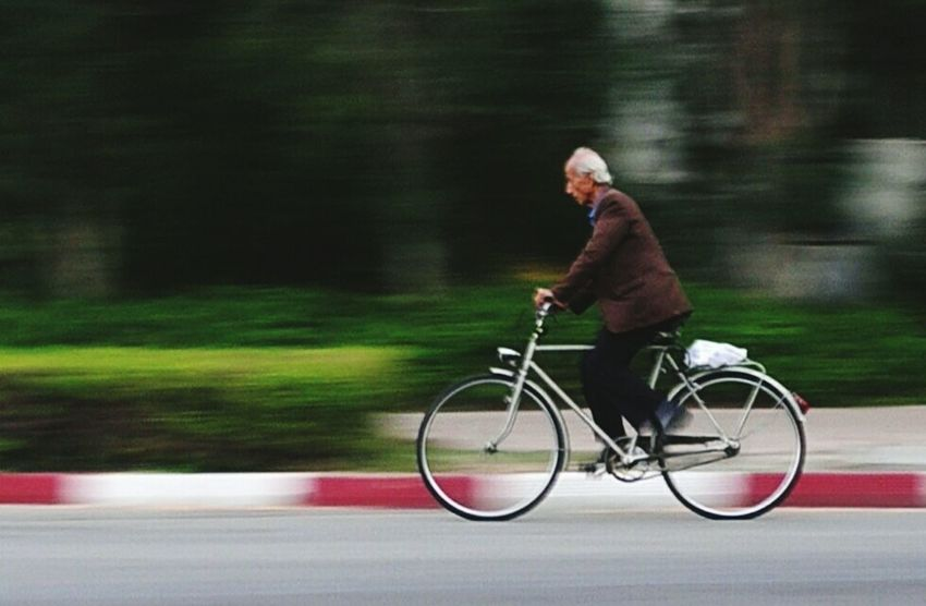 Panning Panningshot Panningphotography Panning Shot Panning Photography Mode Of Transport Urban Exploration Urbanphotography One Person Urban Landscape One Person Only Motion Bicycler Bicycles Bicycle Track Blured Photo Recreational Activities  Kish Island Urban Exploring Second Acts This Is Aging