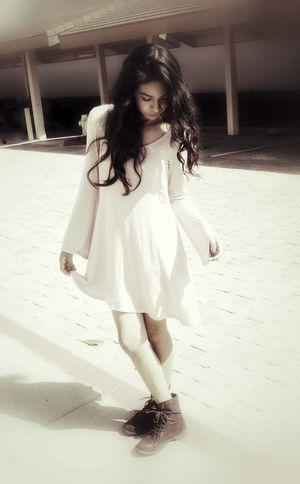 Memory Of Love Shadow Ghost Memory Remeberance One Person Thoughts Girl Dress Long Hair Boots Windy Outside Outdoors Anonymousnate Friendship Standing Love