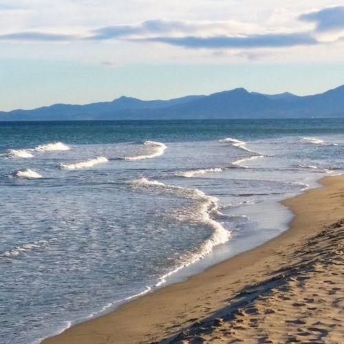 Canetplage le 25 décembre 2014 Mer Plage Méditerranée CanetEnRoussillon PyrénéesOrientales LanguedocRoussillon PaysCatalan SudDeFrance igersfrance