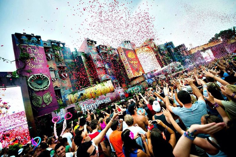 Iwanttobetheresobad❤️ Tomorrowland▲▼ Too Freakin Excited  One Love - One Rave