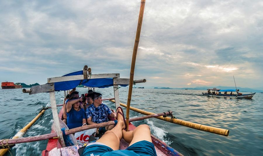 Spent a few days on speeding boats to some deserted islands Sunset People Enjoying Life Travel Photography My Commute EyeEm Nature Lover Clouds And Sky Candid Nature INDONESIA People Of The Oceans