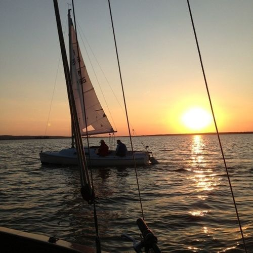 Steinhuder Meer Steinhude-am-meer.de - Dein Meer-Foto Sunset Sailing